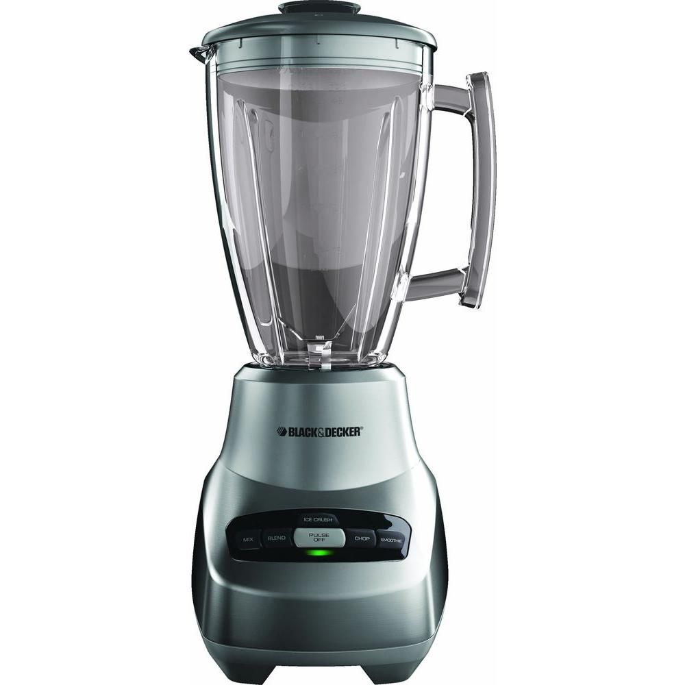 Black Decker 4 Speed Blender Glass Jar Die Cast Bl3000s