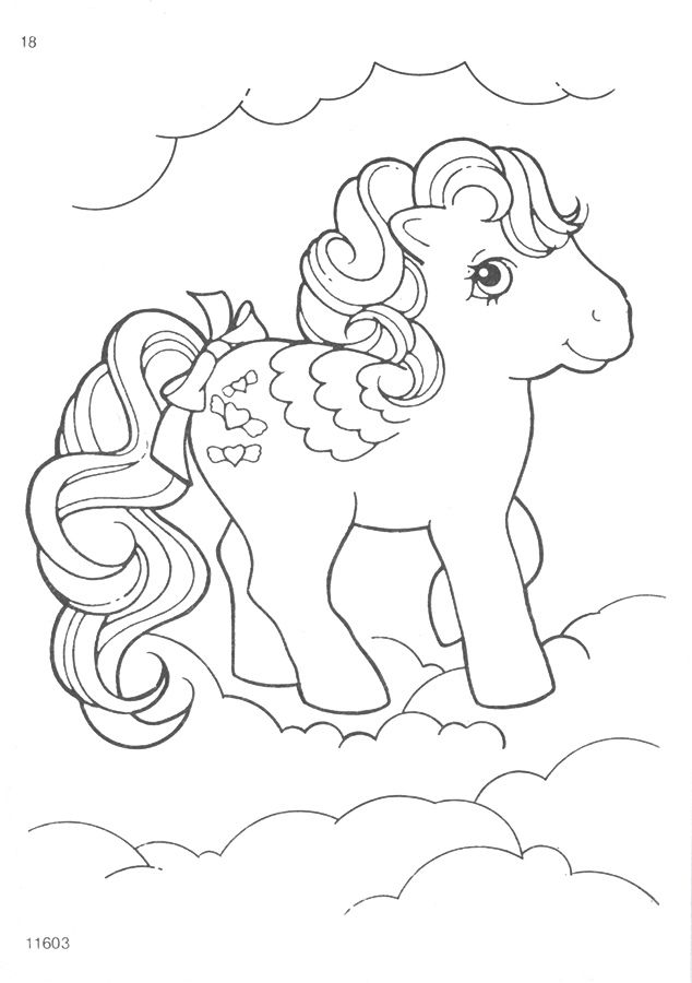 My Little Pony G1 Coloring Pages Pony, Color sheets and School colors - copy my little pony coloring pages of pinkie pie