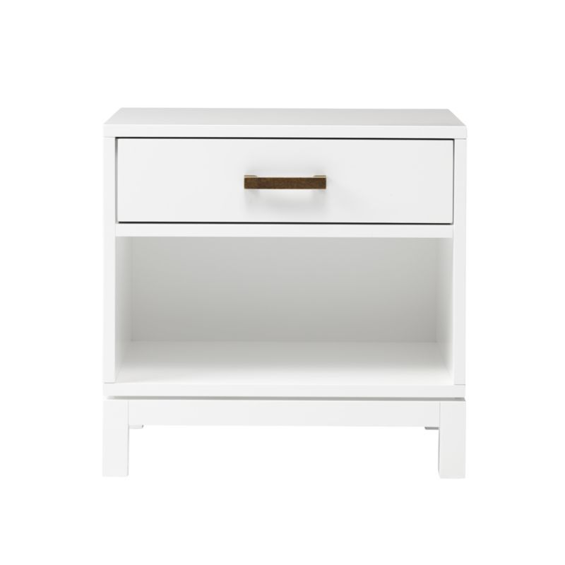 Kids Parke White Nightstand Crate And Barrel White Nightstand Nightstand Crate And Barrel