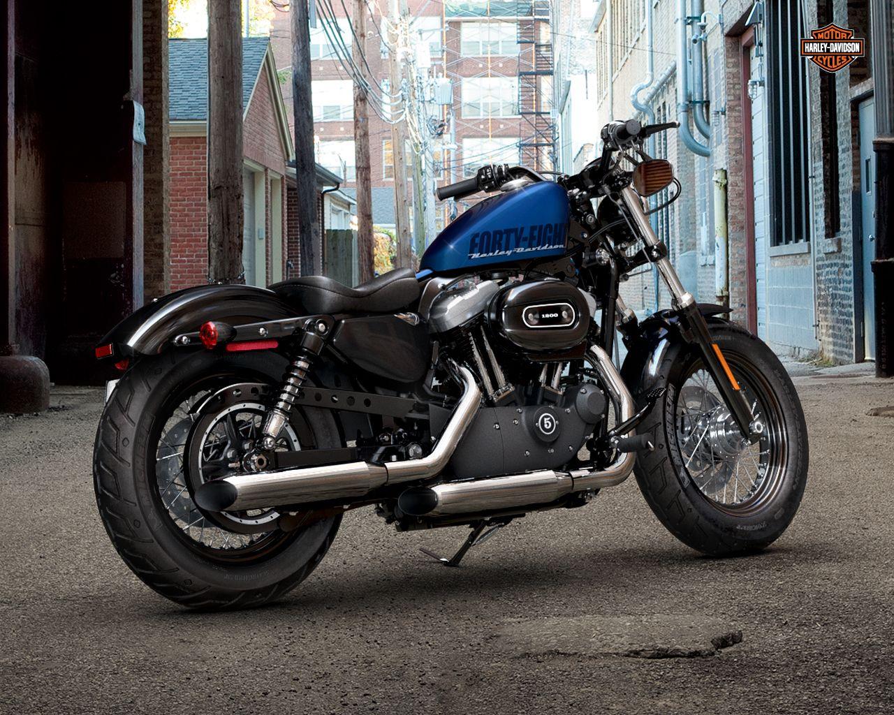 Harley Davidson Sportster 48 Wallpaper Motocicletas Motos