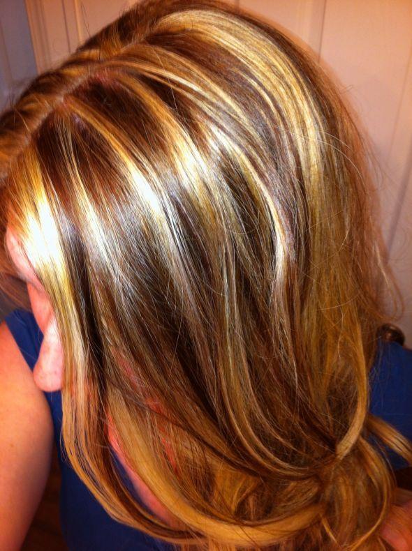 tiger striping hair dresser