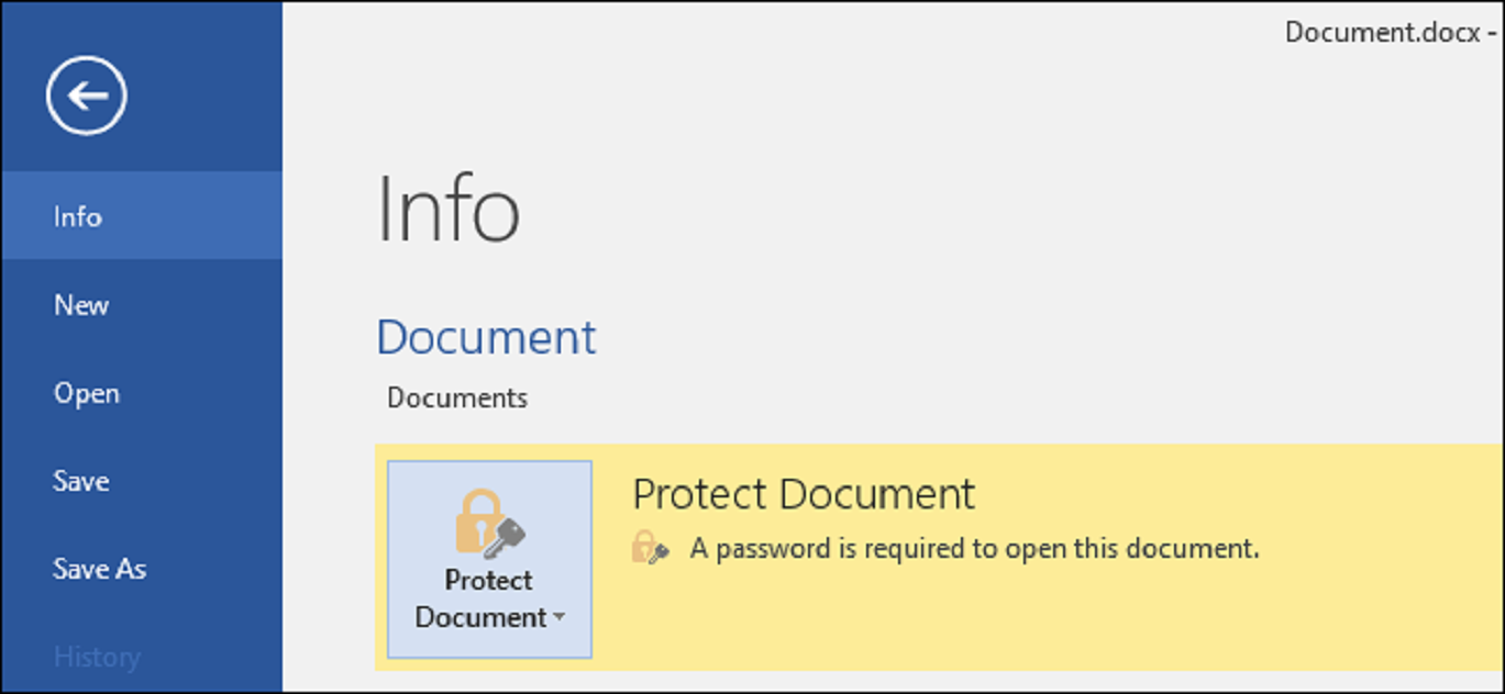 How To Protect Pdf Documents With Password Microsoft Office Documents Microsoft