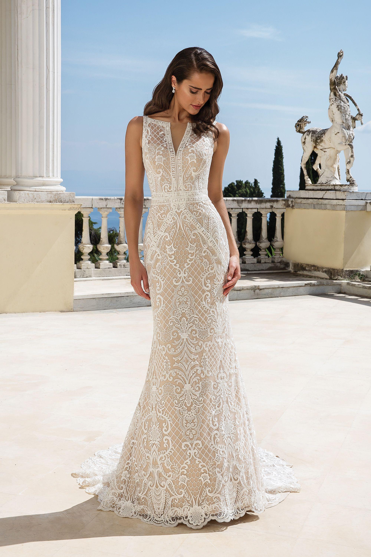 Available At Ella Park Bridal Newburgh In 812 853 1800 Justin Alexander Style Justin Alexander Wedding Dress Wedding Dress Long Sleeve Bridal Elegance