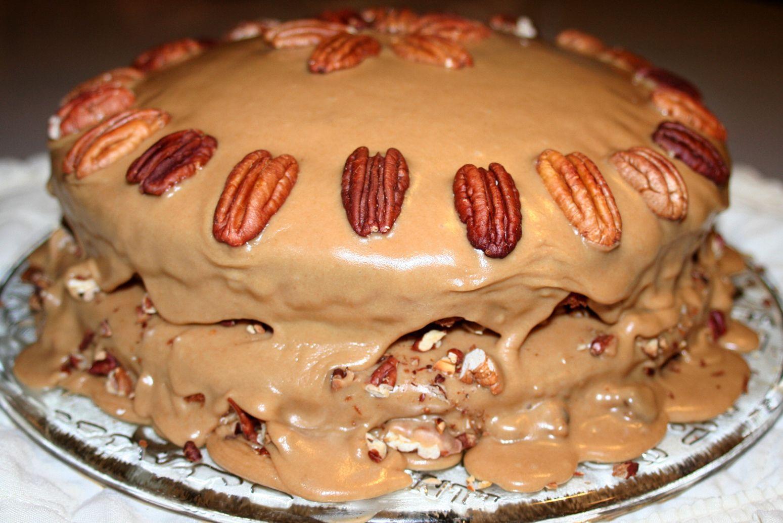 Praline Cake #pralinecake