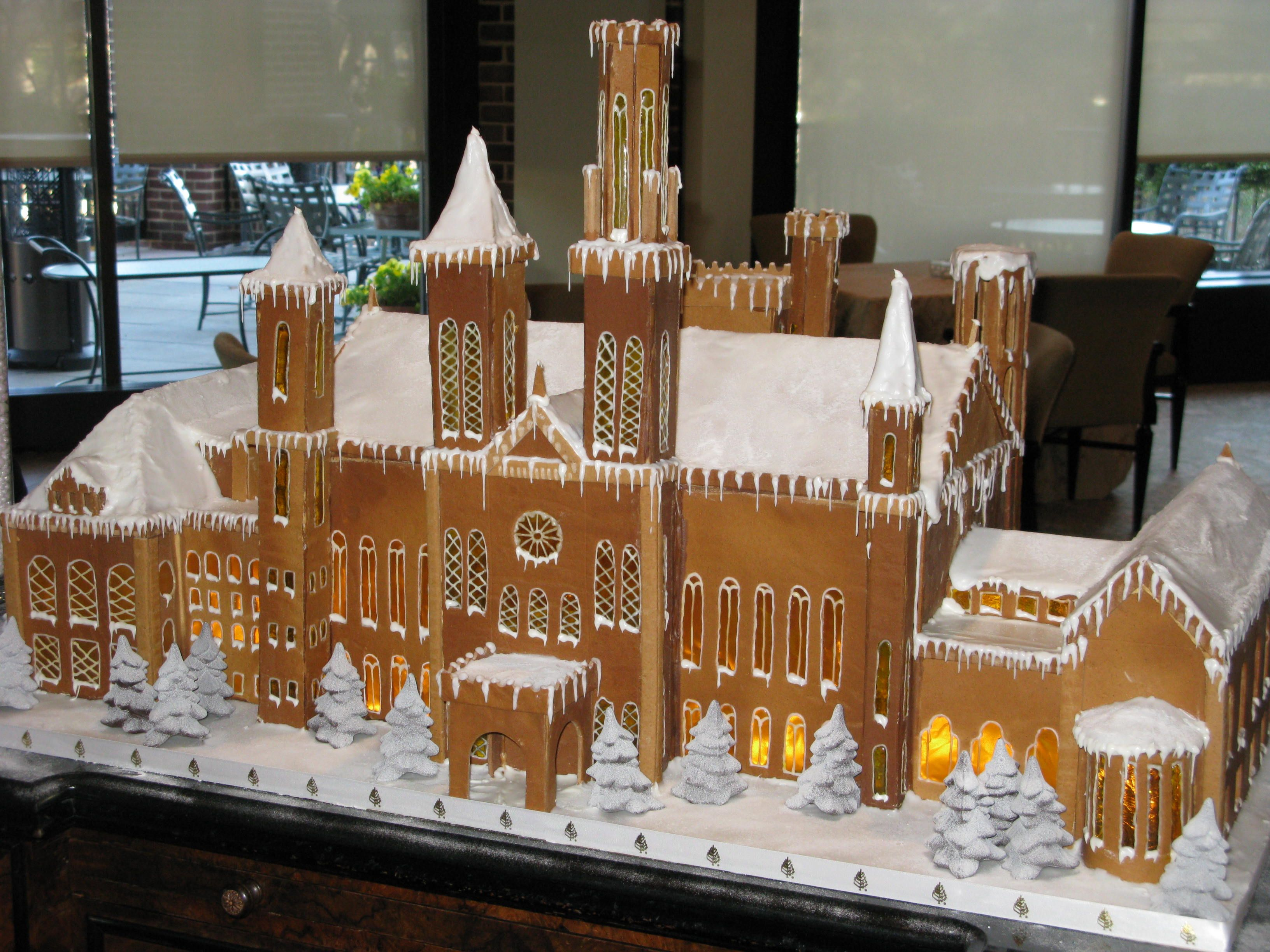 10 extreme gingerbread houses | gingerbread, gingerbread castle