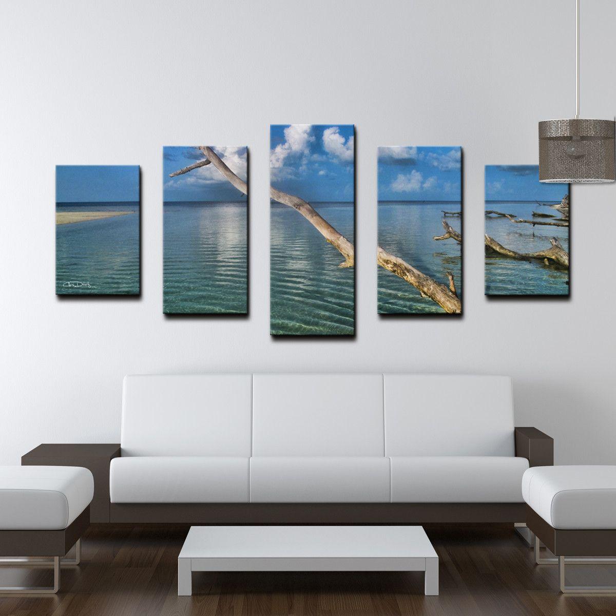 Chris Doherty 'Grand Bahama' 5-piece Canvas Wall Art | Products ... - Chris Doherty 'Grand Bahama' 5-piece Canvas Wall Art