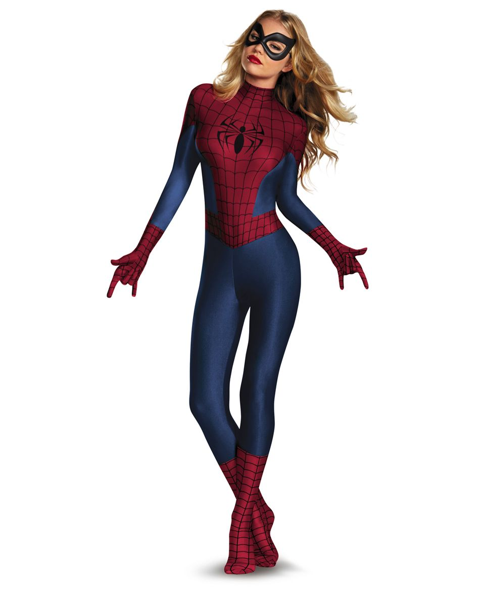 Spider-Girl Eye Mask Marvel Superhero Spider-Man Halloween Costume Accessory