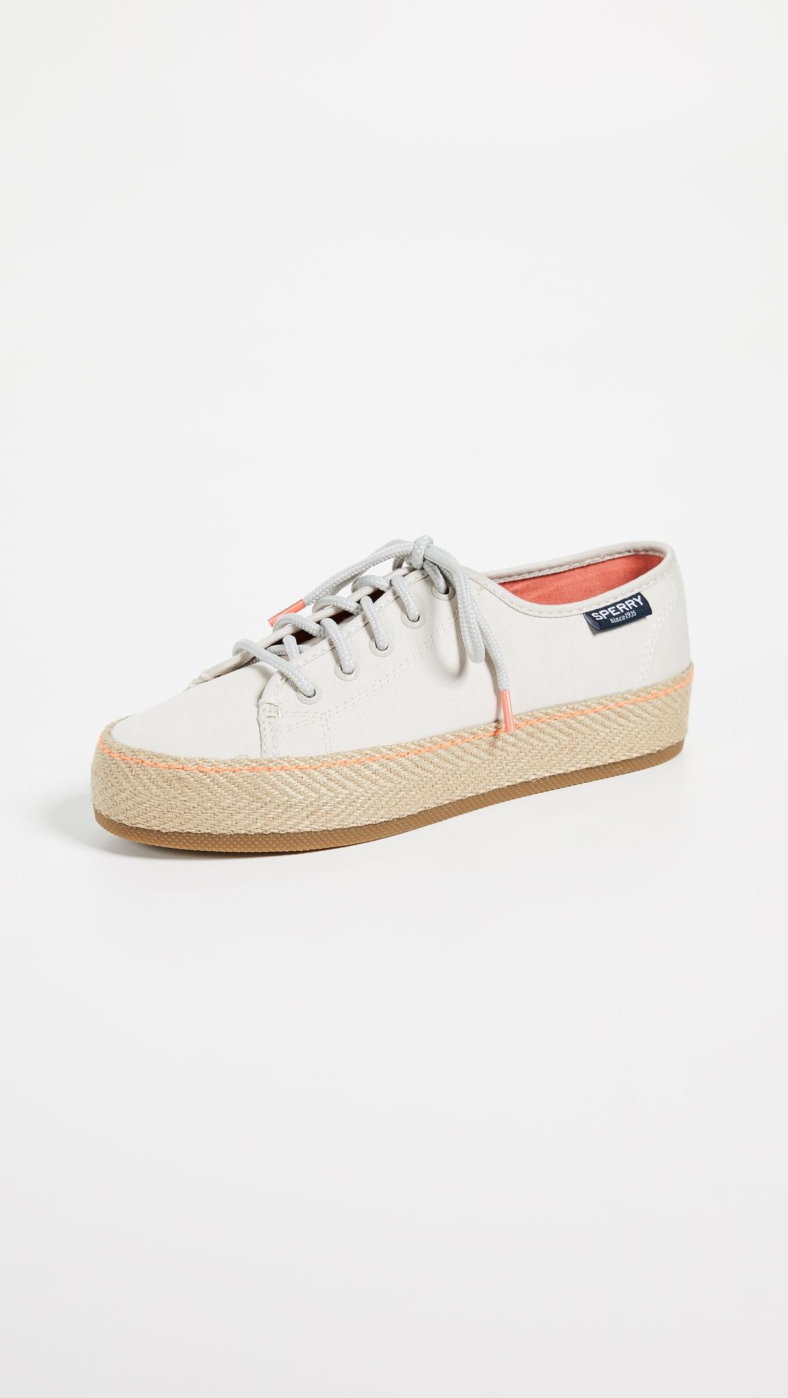 7deb3df2b19f Sperry Sky Sail Jute Wrap Platform Sneakers