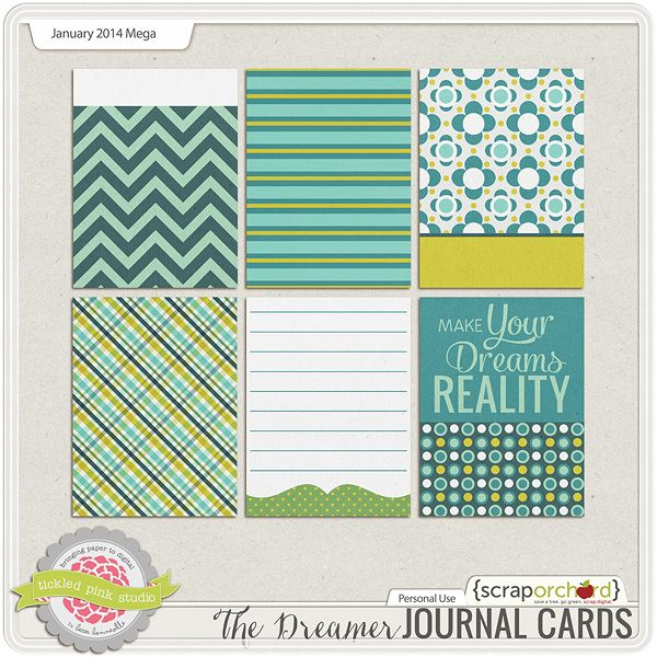 The Dreamer Journal Cards
