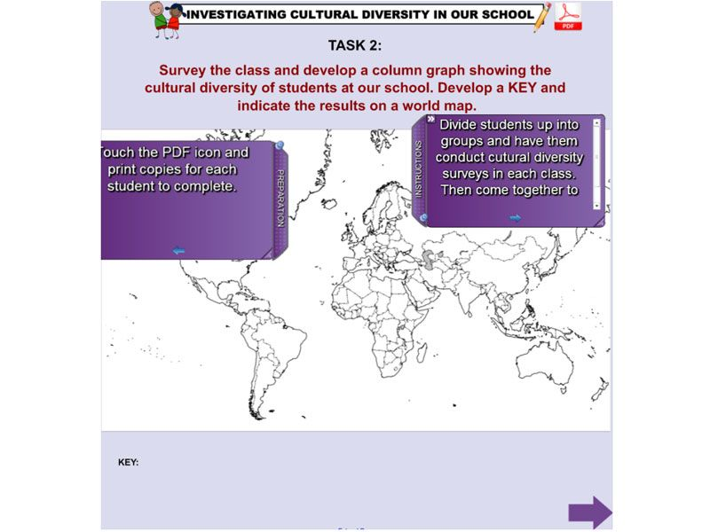 This excellent resource provides iwb support material for the year 6 this excellent resource provides iwb support material for the year 6 geography unit of work a diverse and connected world student answer the inquiry gumiabroncs Gallery