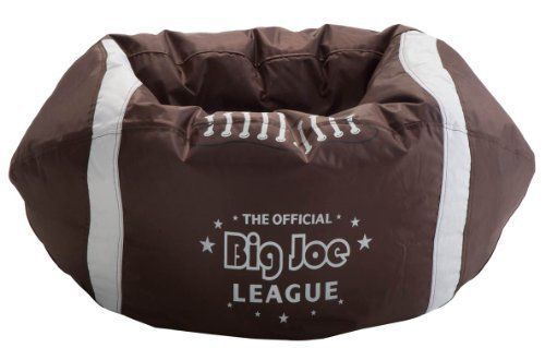 Enjoyable Big Joe Football Bean Bag With Smart Max Fabric Football Caraccident5 Cool Chair Designs And Ideas Caraccident5Info