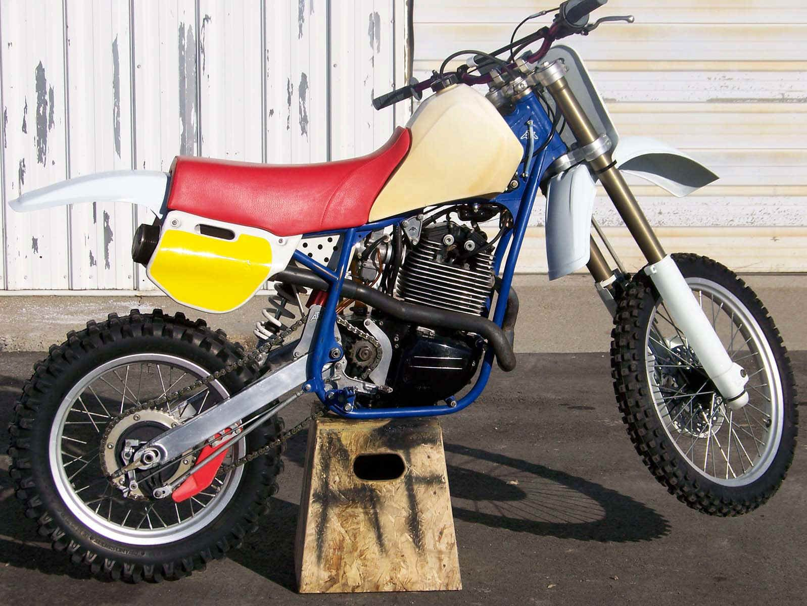 1985 ATK 560  ATK was an American motorcycle that wasn't