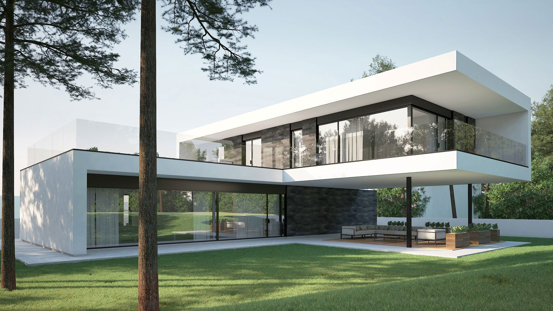ModernvillaT&DinKaunas(3) Edifícios modernos
