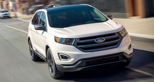 Ford Today Unveiled The 2018 Edge Sel Sport Appearance Package