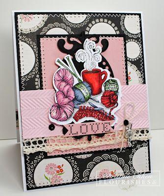ChristineCreations: Love Stitching