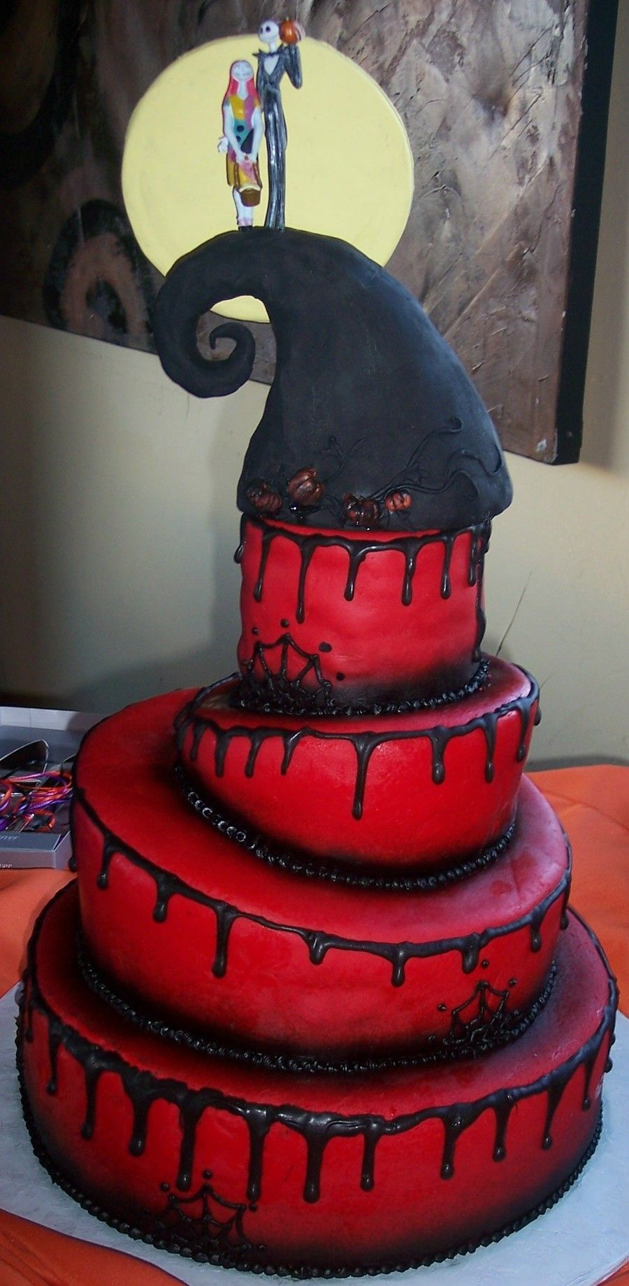 Nightmare Before Christmas Wedding Cake | Icing on the Cake or ...