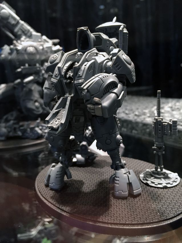 tau riptide conversion | Report: Warhammer 40,000 Open Day 2015 and Golden Demon Photos - Tale ...