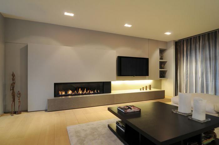 tv en gelhaard in een wand gasvuur tv pinterest. Black Bedroom Furniture Sets. Home Design Ideas
