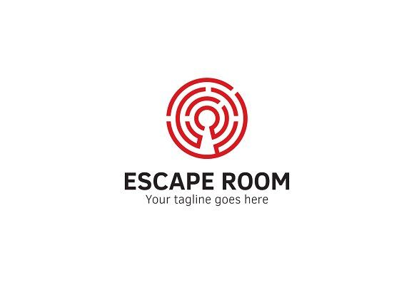 Escape Room Logo by XpertgraphicD on @creativemarket