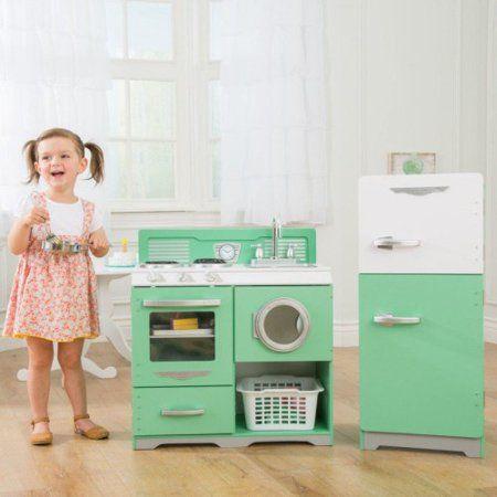 KidKraft: Homestyle 2-Piece Kitchen - Walmart.com