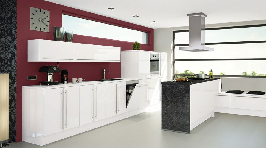Küche in edlem Design. www.kuechen-meyer.de #kuechen #KuechenMeyer #meyer #kuechenplanung