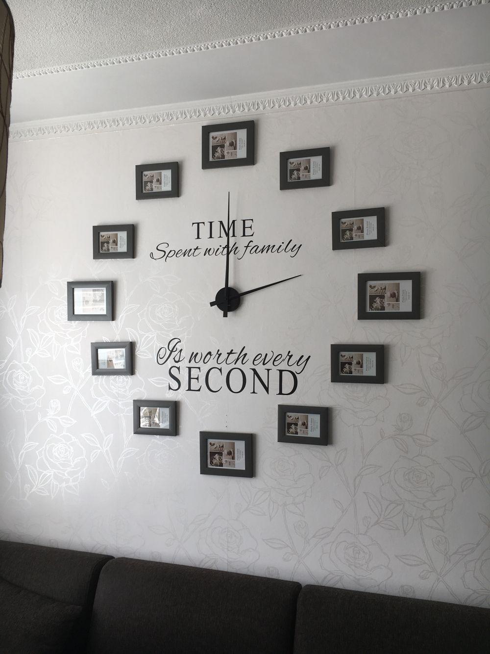 Klok met foto\'s | foto klok | Pinterest | Woodland bedroom, Clocks ...