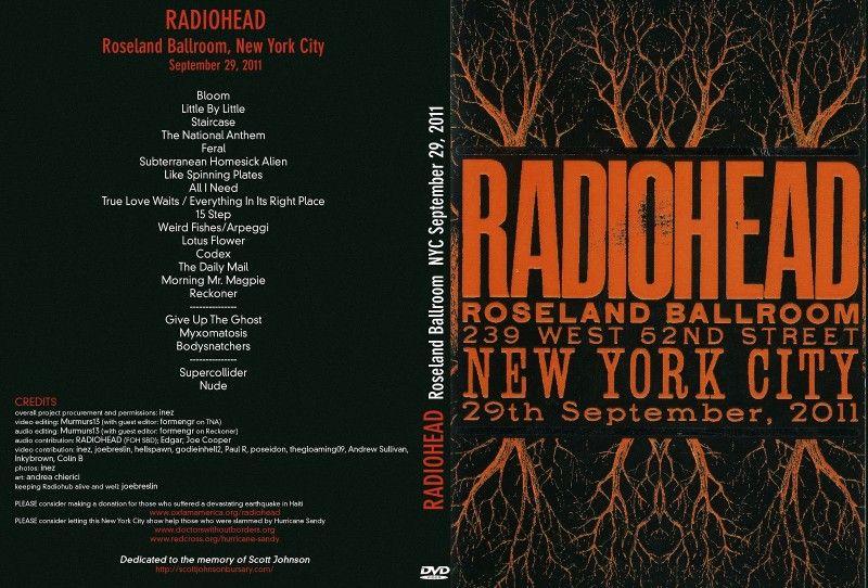 Radiohead full concert