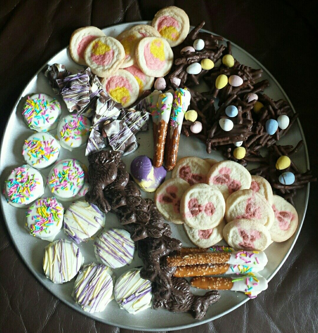 Easter platter of chocolate to gift recipes i have made easter platter of chocolate to gift negle Images