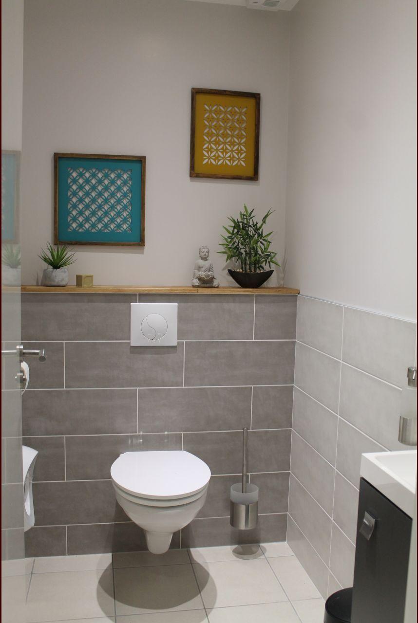 Tablette En Chene Peinture Colours Lin Blanc Castorama Notre Maison En Champagne Ardenne Idee Deco Toilettes Deco Salle De Bain Toilette Toilettes En Bas