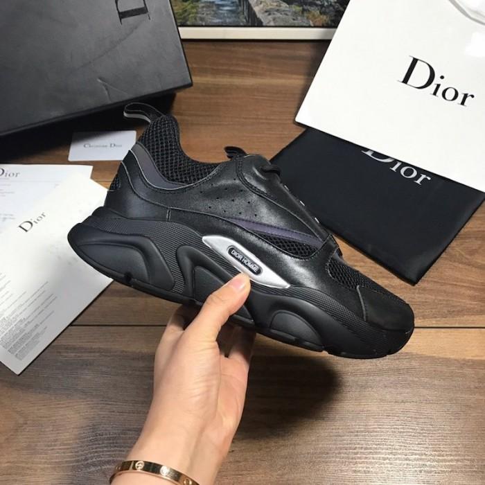 Dior B22 Sneaker in black technical