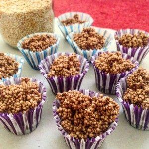 Choco-Vainilla Quinoa Poppies