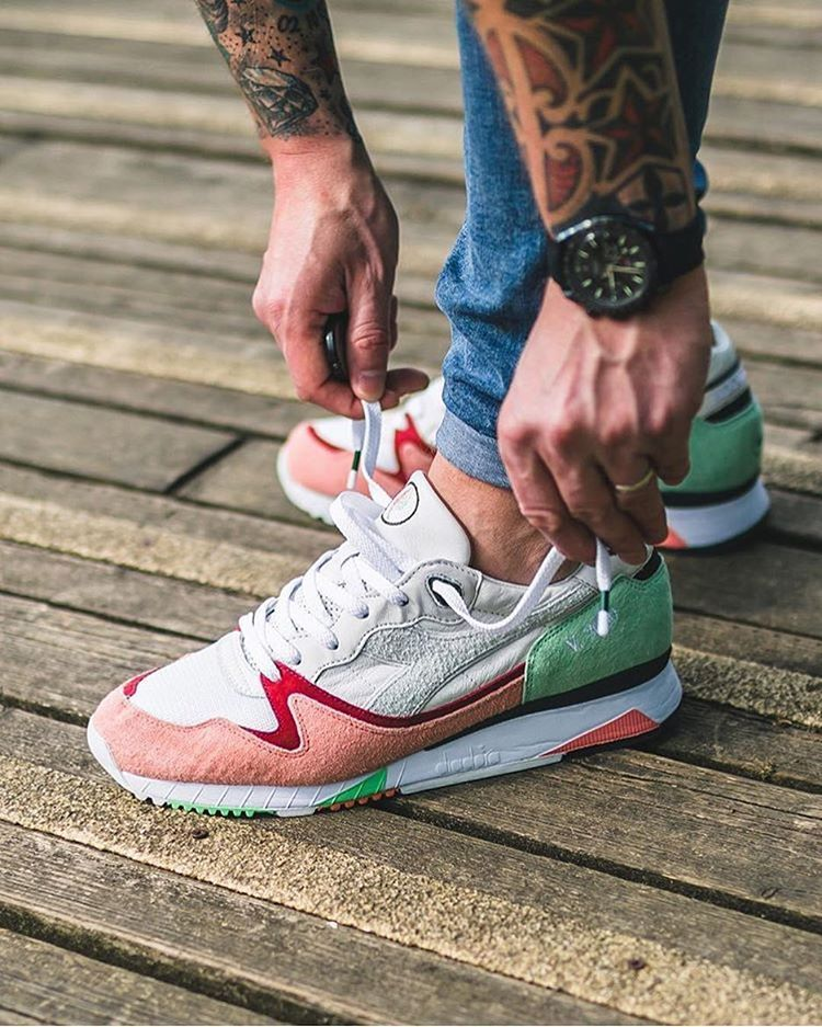 huge selection of 2bda6 3bf75 Inspired by the addictive passion of the sneakerheads to always get the  newest and most exclusive shoes the AFEW x Diadora ...