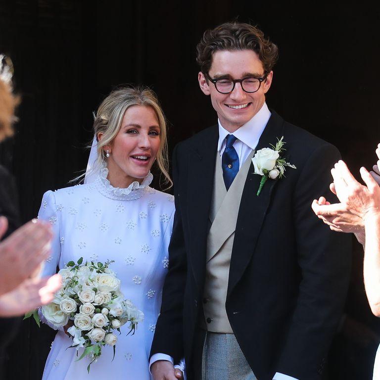 Ellie Goulding And Caspar Jopling Wedding Pictures