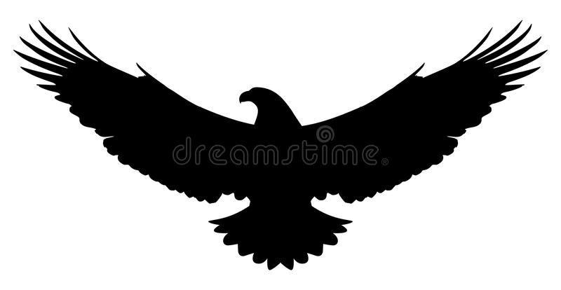 American Eagle Silhouette Vector Silhouette Of A Flying American Eagle On White Ad Vector Flying Silhou Eagle Silhouette Eagle Drawing Eagle Painting