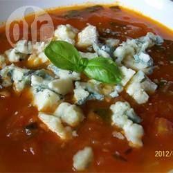 Tomatensuppe Brigitte gourmet tomatensuppe mit gorgonzola wenn ich richtig gute