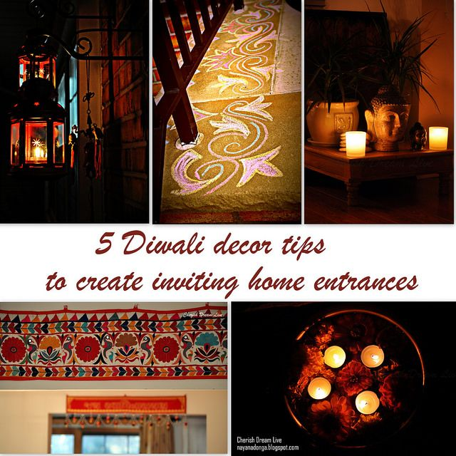 Diwali Decoration Tips And Ideas For Home Part - 28: Diwali · 5 Diwali Decor Tips To Create Inviting Home Entrances