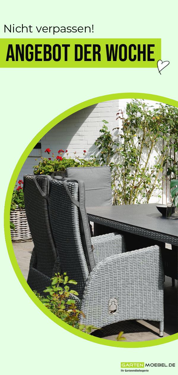Ploss Vigo Dining Set Stahlgrau Meliert Schiefergrau Polyrattan Tisch 200x95 Cm 6 Sessel 21587 Gartenstuhle Polyrattan Tisch Polyrattan