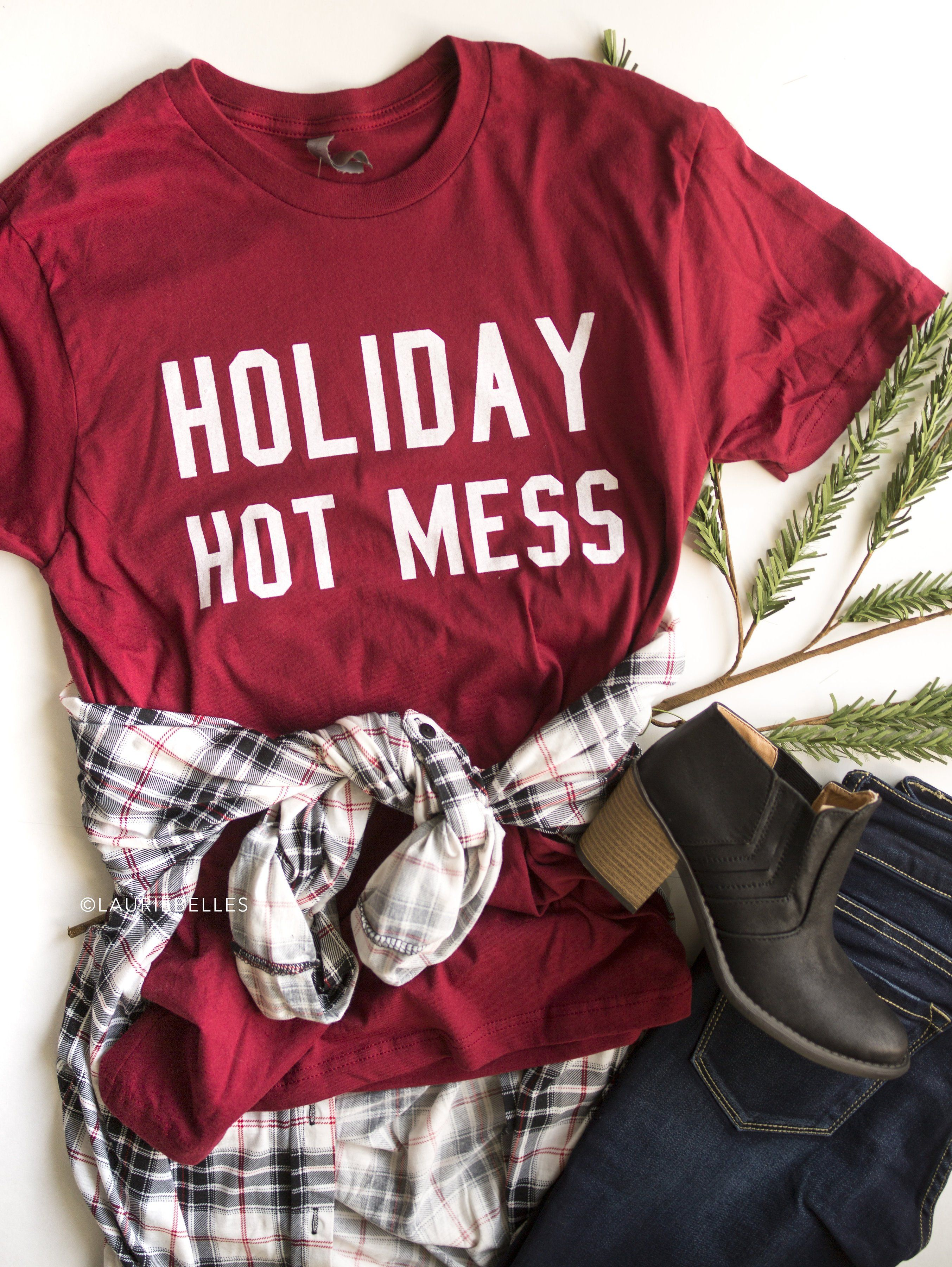 7070d56c4 Holiday Hot Mess