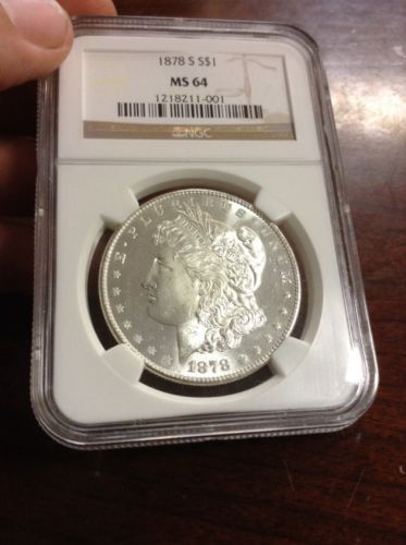 1878-S Morgan Silver Dollar NGC MS 64 https://t.co/VvWiJYet37 https://t.co/ud93pWTsRq