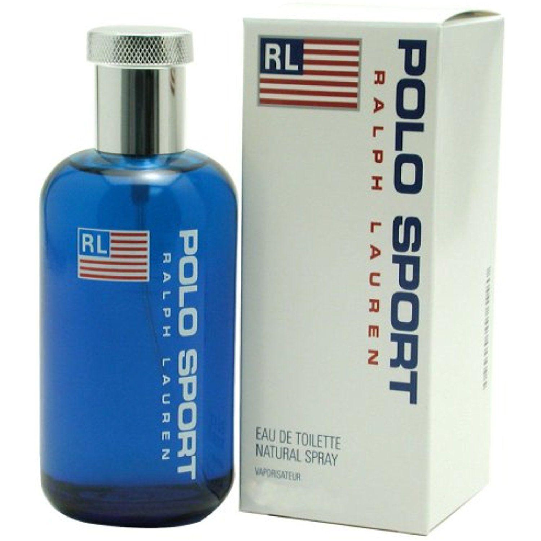 Ralph Lauren Polo Sport Eau de Toilette Spray for Men, 4.2