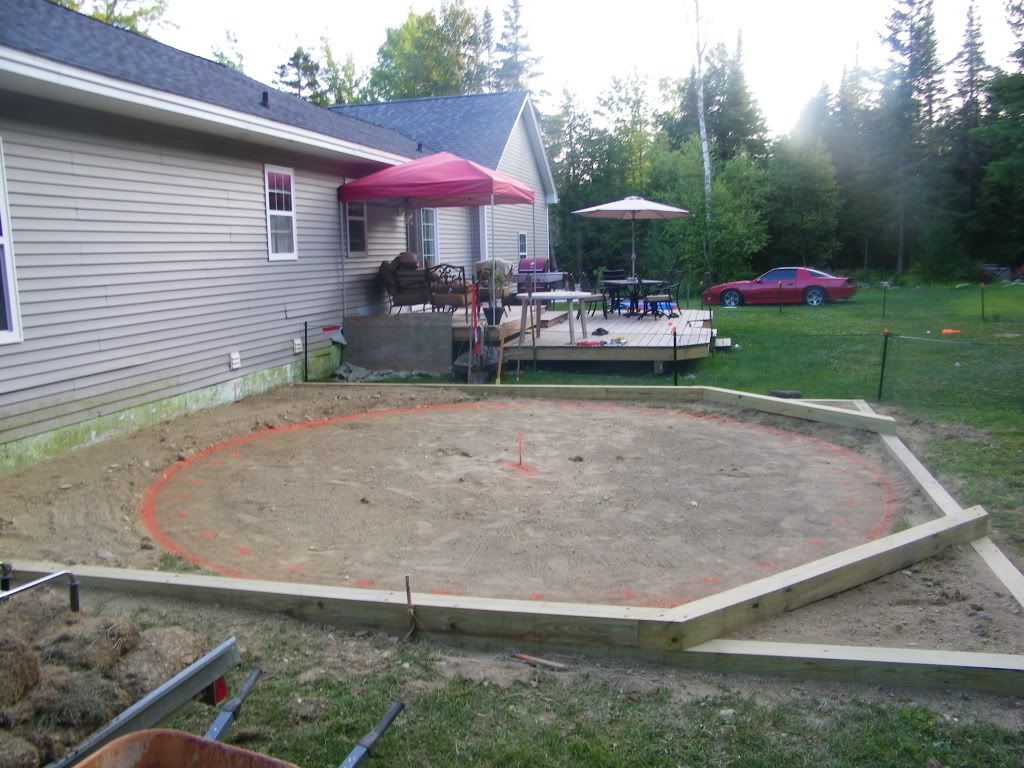 Preparing Ground For New Pool Installing Above Ground Pool In Ground Pools Backyard Pool