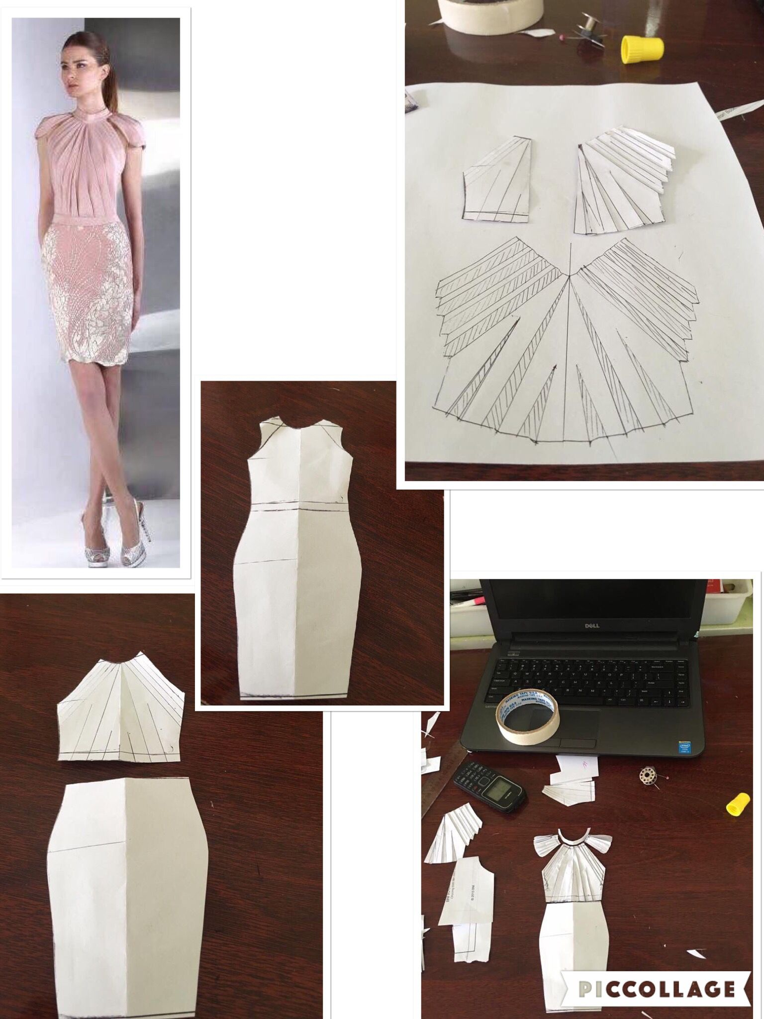 pleated top dress... Good for work | Couture Sewing | Pinterest ...