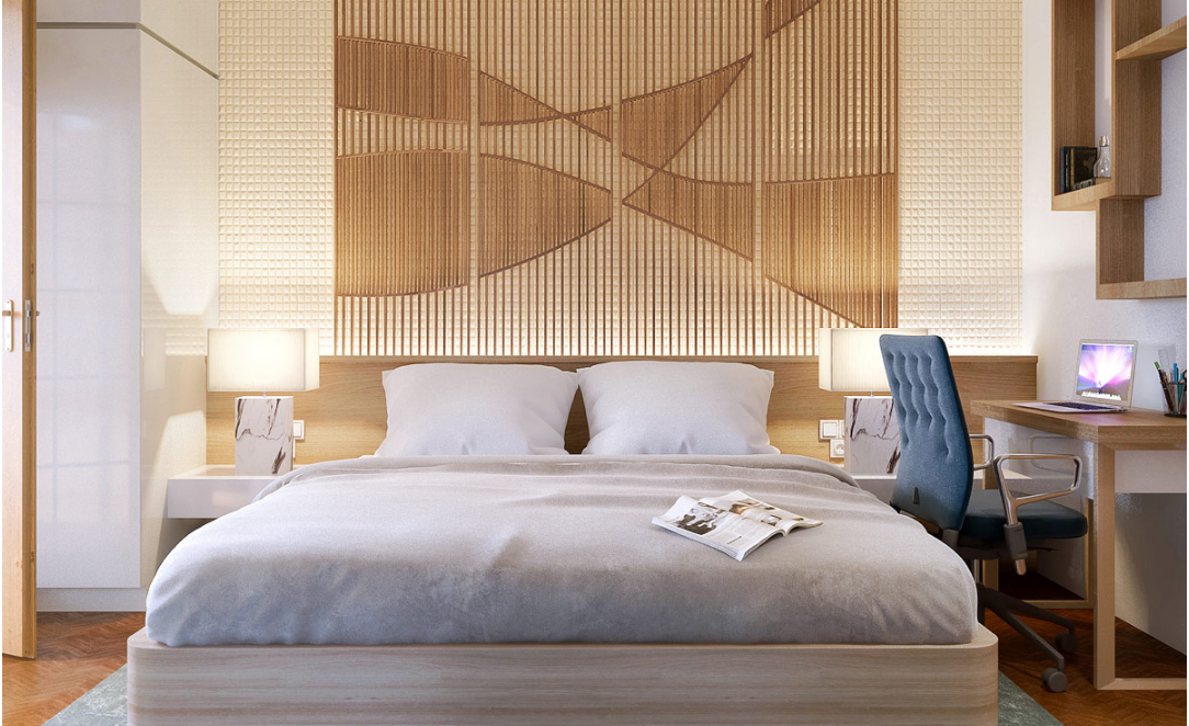 Bedroom accent walls come and download from here beautiful examples of bedroom accent walls that use slats to look awesome pinterest bedroom accent