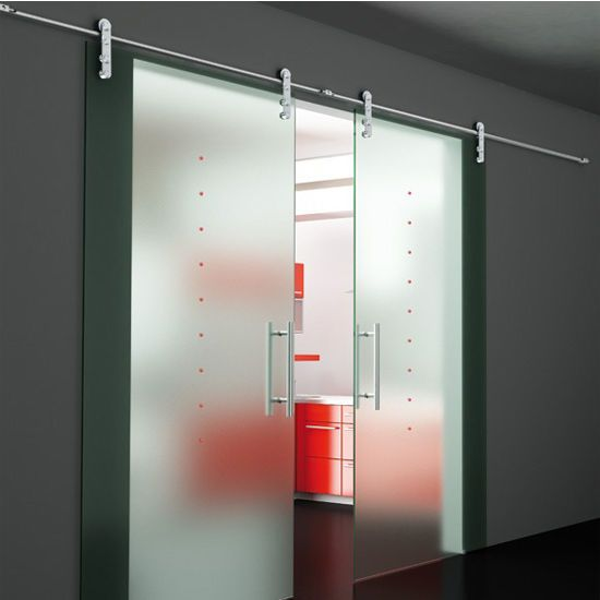 The Structure Glass Solutions Flux Series Double Sliding Door Mount Kit Is Able T Interior Sliding Glass Doors Doors Interior Modern Modern Sliding Glass Doors