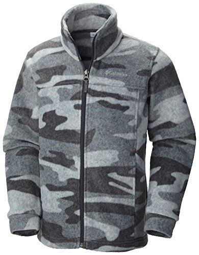 17496ae17669 Columbia Baby Boys Zing III Fleece Graphite Tweed Camo 1218 Months ...