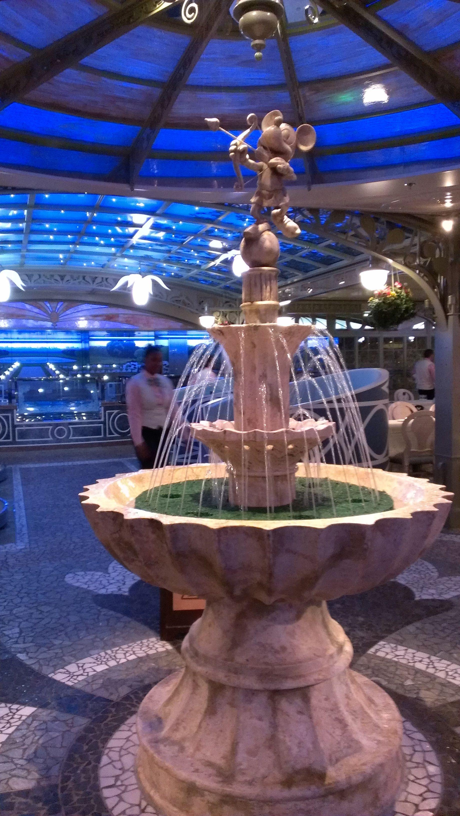 Enchanted Garden onboard the Disney Fantasy Disney