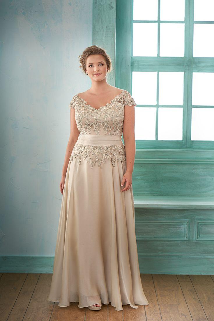 Jasmine Bridal Curvy Bride Satin Wedding Mother Of The Bride Dresses [ 1102 x 735 Pixel ]