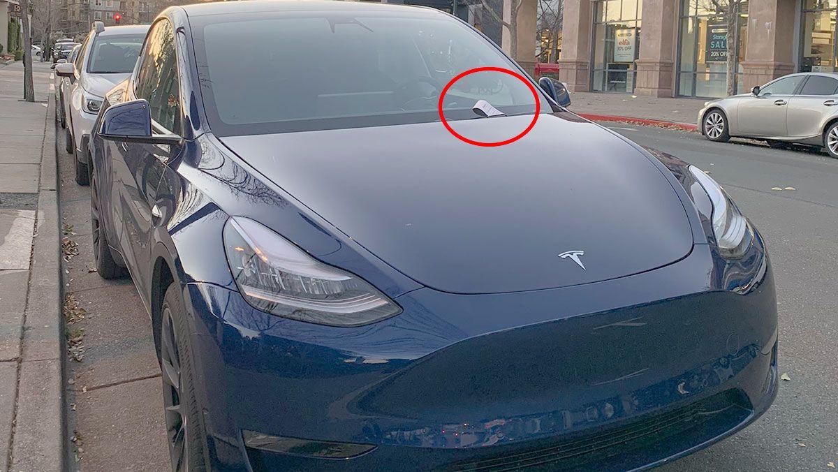 Tesla Model Y Gets A Parking Ticket For The First Time Ever In East Bay Ca Tesla Model Tesla Tesla Roadster