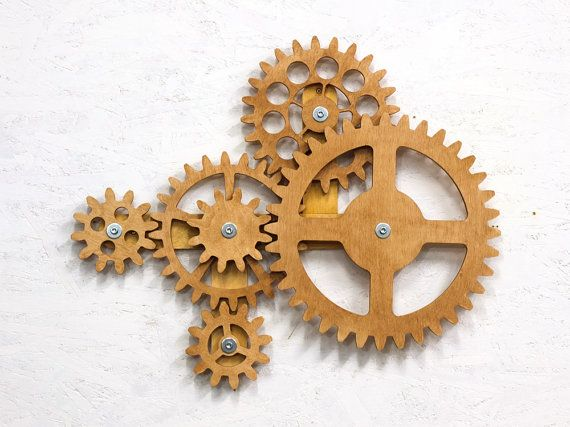 kinetic wall sculpture mechanical
