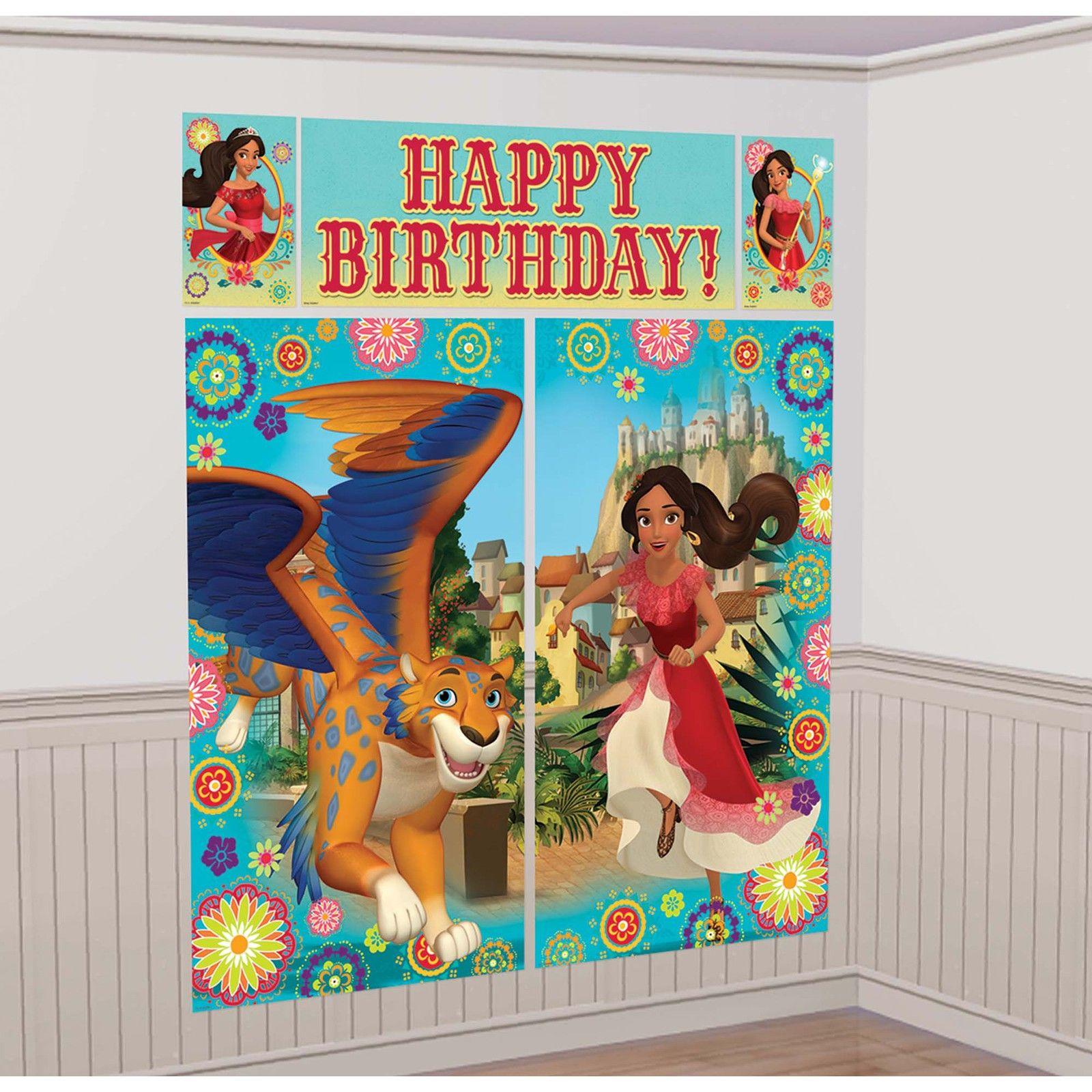 Elena Of Avalor Scene Setter Wall Decorating Kit